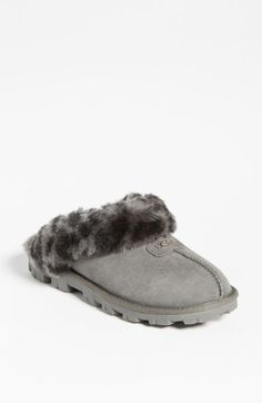 Free shipping and returns on UGG® Australia 'Coquette' Slipper (Women) at Nordstrom.com. Shadowy leopard spots add exotic charm to the incredibly plush, genuine shearling lining inside these comfy, cozy slippers. Wear them barefoot for maximum benefit; genuine sheepskin helps keep feet dry and comfortable in cold temperatures. The sturdy sole on this slipper ensures their durability and makes them ideal for indoor/outdoor wear.