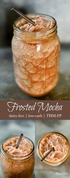 Enjoy this rich and creamy Frosted Mocha for a delightful and guilt-free snack…