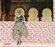 Giclee print of original collage  by Jane LeBlanc by JMLStudios, $19.00
