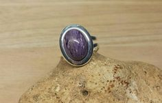 Check out this item in my Etsy shop https://www.etsy.com/listing/227718687/charoite-ring-reiki-attuned-crystal-for