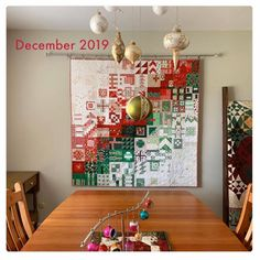 Live a Colorful Life: Really Random Thursday, the early edition: Kids Room Wall Art, Tree Wall Art, Christmas Lights Outside, Christmas Trees, Christmas Crafts, Xmas, Dear Jane Quilt, Christmas Wall Hangings, Applique Quilts