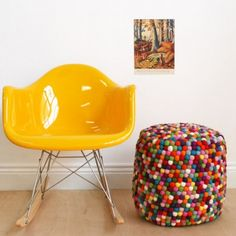 awesome footstools, although I prefer the word pouffe