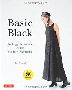 Japanese sewing patterns - Book review: Basic Black