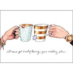Sweet card for your friend's wedding :)   Potpourri - for brides and bridesmaids