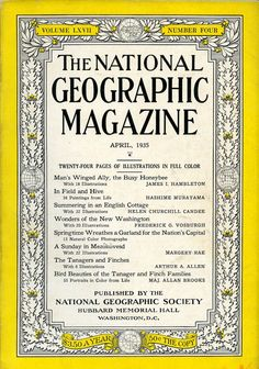 National Geographic Magazine Travel  Culture  by OldBookSmell, $45.00    great antique paper ephemera