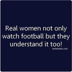 RAVEN Women not only watch football, but they understand it too!