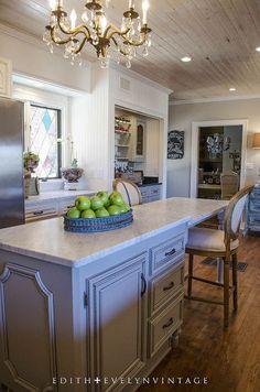 kitchen ideas renovation french country chic glam, home improvement, kitchen design