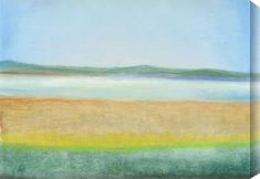Calm abstract landscape