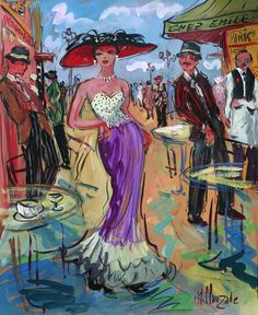 Isaac Maimon Paintings | Vign_marc_clauzade_chez_emile