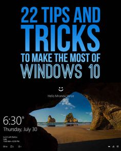 Windows 10 is the latest and greatest operating system for PCs. If you have Windows or installed, then upgrading is free for a limited time. Windows 10 has its quirks, but ultimately, is a h u g e improvement over (hello again, Start Menu). Computer Help, Computer Internet, Computer Repair, Computer Technology, Computer Programming, Computer Science, Computer Tips, Computer Laptop, Medical Technology