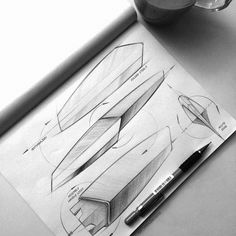 product design - sketches & renders on Behance
