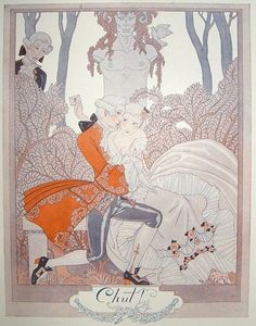 18th century art deco interpretation by George Barbier.
