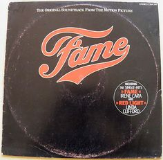 Fame Original Soundtrack From The Motion Picture Irene Cara Rare LP ISRAEL PRESS