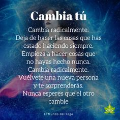 Positive Phrases, Motivational Phrases, Positive Affirmations, Spanish Inspirational Quotes, Spanish Quotes, Work Life Balance, Wise Quotes, Words Quotes, Cura Interior