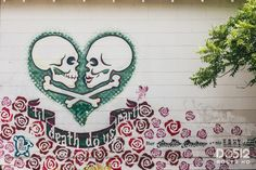 Til Death Do Us Part - Austin Texas Street Art