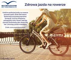Sezon na rower już otwarty, pogoda zachęca do rowerowych przejażdżek, my także zachęcamy, ponieważ jazda na rowerze ma wiele korzyści zdrowotnych!