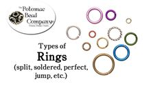 Types of Beading Rings (+playlist)