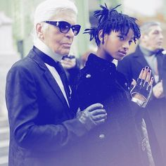 Pin for Later: We Couldn't Dream Up a Better Chanel Campaign Star Than Willow Smith She's Grateful to Karl Lagerfeld For Giving Her the Opportunity