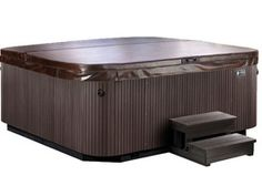 The Envoy spa delivers a comfortable hot tub lounge and a recliner seat with wrist and calf jets soothe and refresh.