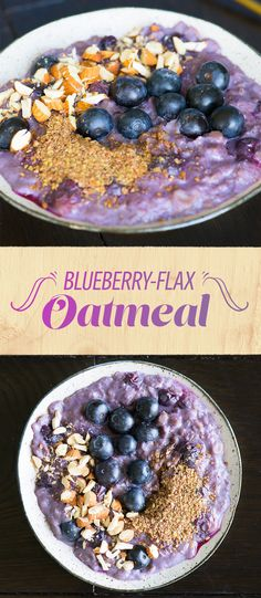 Blueberry-Flax Oatmeal   Here's What To Eat At Suhoor To Stay Energized During Ramadan