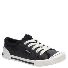 Faux Sherpa Lined Jaela Aviator Canvas Sneakers! #RocketDog #Sneaker
