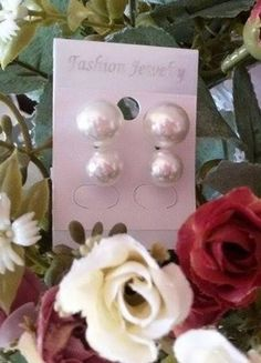 Kupuj mé předměty na #vinted http://www.vinted.cz/doplnky/nausnice/9409648-2-pary-nausnic-perly