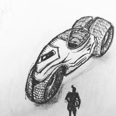 It's been awhile since I have drawn one of these. . . . #sketch #sketching #sketches #drawing #drawings #art #artsy  #artistic #artwork #doodle #doodles #characterist #draw #conceptart #instaart #instagood #instadaily #illustration #blackandwhite #motorcycle #artoftheday #future #gameart #tempuradesign #followforfollow #gamedesign #sketchbook