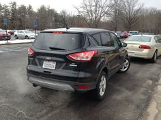 Ford claimed 11 features exclusive to the Escape in the compact SUV class: everything from a capless fuel nozzle to Torque Vectoring Control, which helps the Escape corner more securely