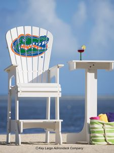 Outdoor Patio Lifeguard Chair   University Of Florida Gators