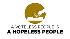 A Voteless People is a Hopeless People - Alpha Phi Alpha