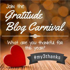 Gratitude Campaign 2013 #My3Thanks