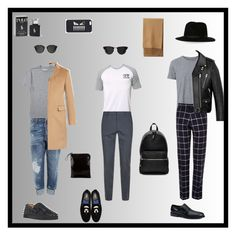 """Grey sunday"" by krisz-kn ❤ liked on Polyvore featuring Dsquared2, Billabong, Witchery, Burberry, Vito, Yves Saint Laurent, Tod's, Christian Louboutin, Fendi and Carrera"