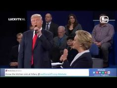Trump, Clinton sing 'Dirty Dancing' duet in funny edit of presidential debate - 7NEWS Denver TheDenverChannel.com