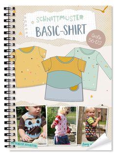 Lybstes. Basic-Shirt E-BOOK   Gr. 56-122