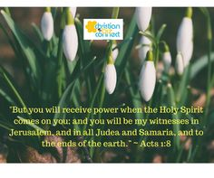 """""""But you will receive power when the Holy Spirit comes on you...."""" ~ Acts 1:8 https://www.christianbizconnect.com/ #bibleverses #christianbizconnect #cbc #christians #christianbusinessdirectory #christianbusinesesses  #churchdirectory #churchevents #churchactivities #palmbeachcounty"""