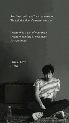 Trivia: Love by BTS RM Lyrics wallpaper Trivia: Love by BTS RM Lyrics wallpaper - Unique Wallpaper Quotes Bts Song Lyrics, Pop Lyrics, Bts Lyrics Quotes, Bts Qoutes, Bts Wallpaper Lyrics, Wallpaper Quotes, Wallpaper Wallpapers, Bts Citations, Trivia Love