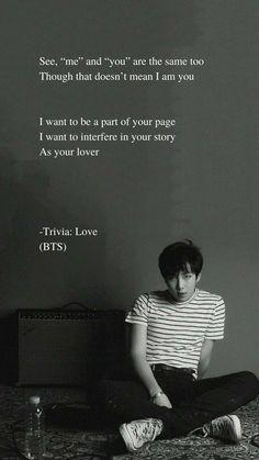 389 Best Bts Lyrics Quotes Images Bts Boys Bts Wallpaper Frases