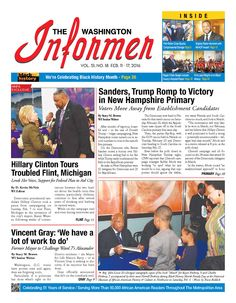 #20160211 #USA #DC #WashingtonDC #TheWashingtonInformer Thursday FEB 11 2016 http://www.newseum.org/todaysfrontpages/?tfp_show=80&tfp_page=2&tfp_id=DC_WI