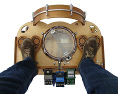 Farmer Foot Drums - Portable * Acoustic * Foot Operated - Totally Want!