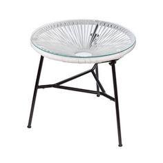 Acapulco Replica Side Table Blue 29 00 Material Metal