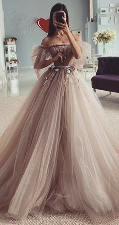 Pretty Prom Dresses, Elegant Dresses, Beautiful Dresses, Elegant Ball Gowns, Fairy Prom Dress, Fairytale Dress, Quince Dresses, Ball Dresses, Debut Dresses