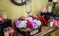 Paige's DIY Flower Wedding Centerpieces- home&family- other good tips