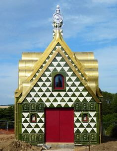 FAT + grayson perry conceive residential folly for living architecture