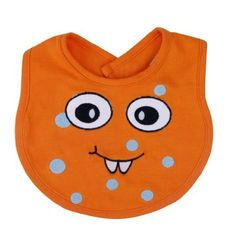 Trend Lab Snuggle Monster Bib, Orange, http://www.amazon.com/dp/B00EJ7R82S/ref=cm_sw_r_pi_awdm_d6Vewb16YNJES