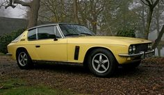 1973 Jensen Interceptor SP - Yellow Car -  I like to pay homage to the Yellow taxis of the world and other cars that happen to be yellow ! https://www.linkedin.com/pulse/finallyhere-jan-ovland - enjoy ! - janovland@gmail.com