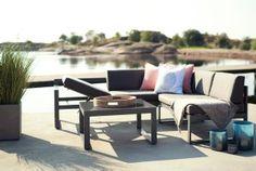 Eastbourne Hjørnegruppe - moderne hagemøbler som passer til deg.