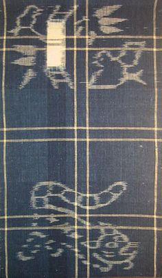 Japanese Ikat