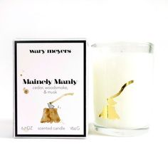 My design inspiration: Mainely Manly Candle on Fab.