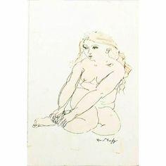 Raoul Dufy Nu Femme Bather, Lithograph