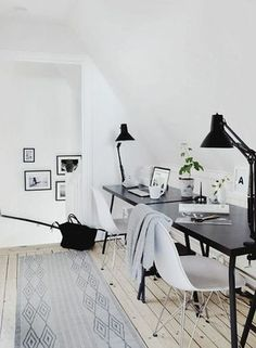 neutral office space